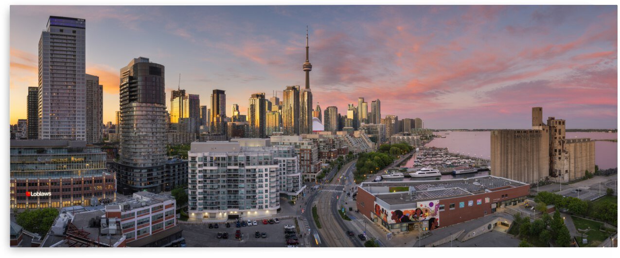 Queens Quay Panoramic View by Celso Mollo