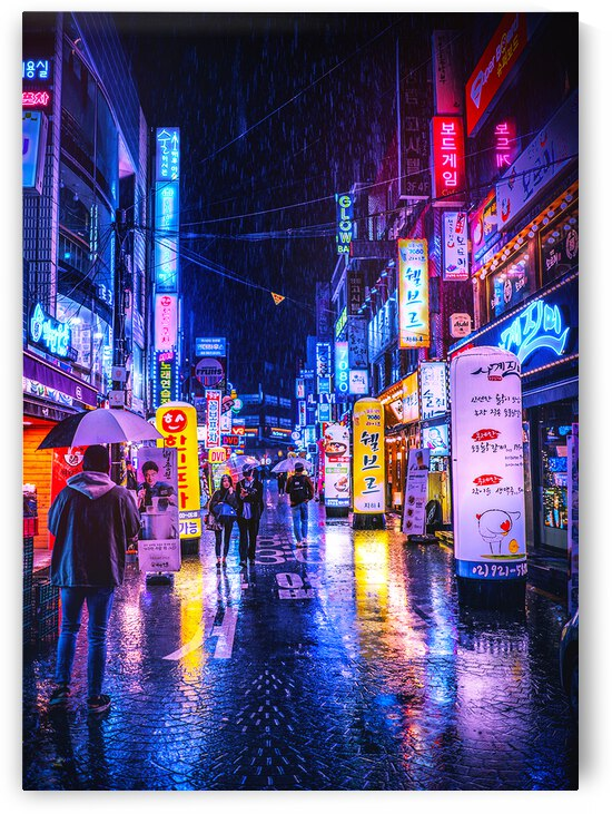 Neon City by Dims Art