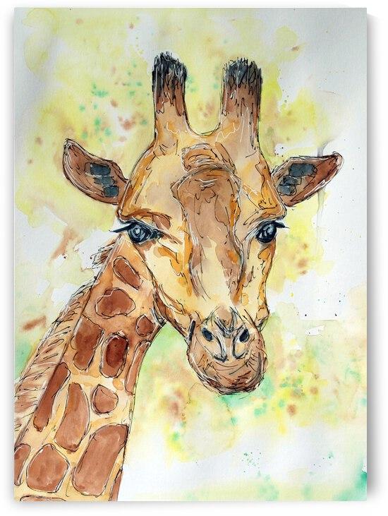 A little Giraffe by ZeichenbloQ