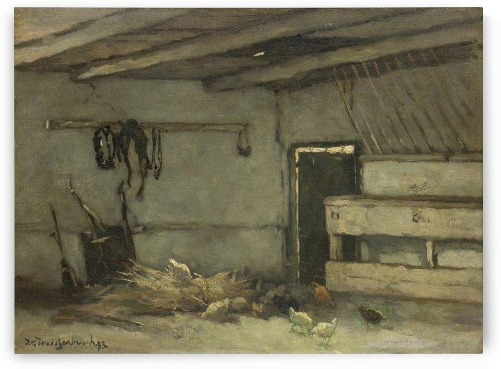 Stalinterieur by Jan Weissenbruch