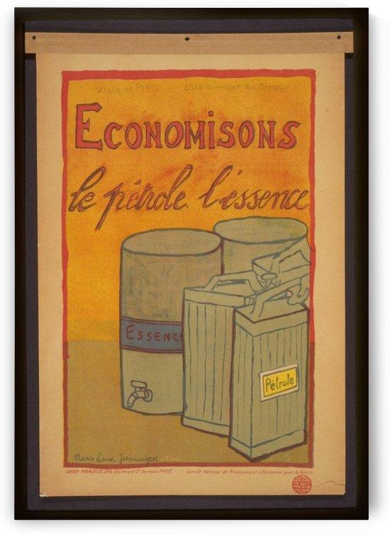 Vintage---Save-Petrol by VINTAGE POSTER