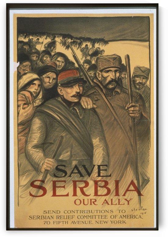 Vintage---Save-Serbia by VINTAGE POSTER