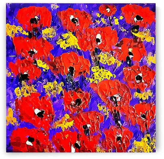 Poppy Festa Time by Dorothy Berry-Lound