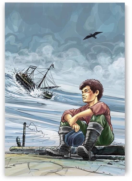 Young Sailer by Tayyar Ozkan