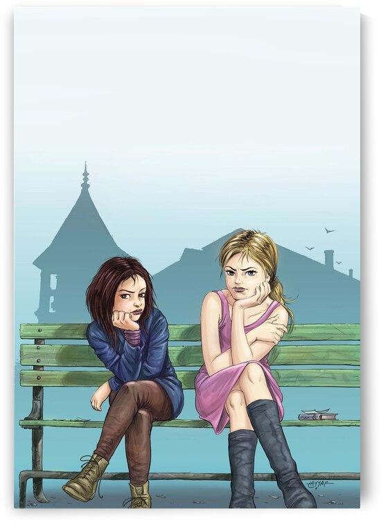 Teen Girls  by Tayyar Ozkan