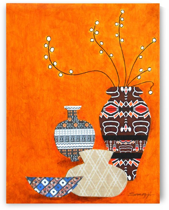 African Pottery No. 1 by Jayne Somogy