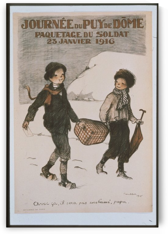 Vintage---Two-Boys by VINTAGE POSTER