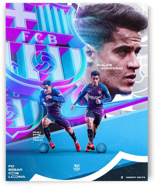 Coutinho x Barcelona  Endrit Edits Edition  by Sporteriors