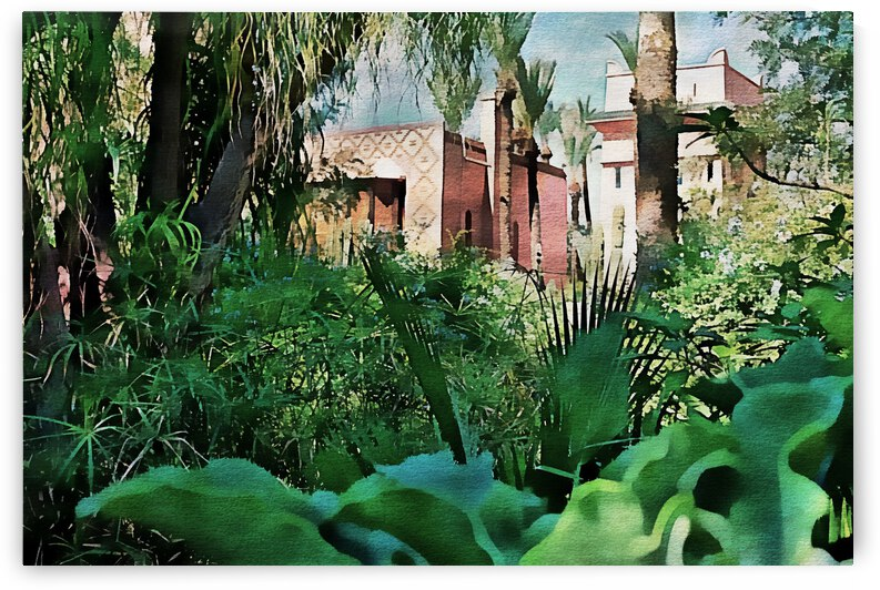 Oasis of Calm Marrakesh by Dorothy Berry-Lound
