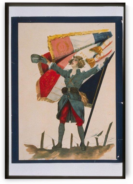 Vintage---Viva-La-France by VINTAGE POSTER