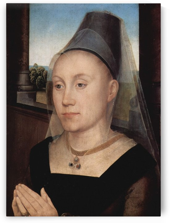 Portrait of Barbara van Vlaendenbergh, 1480 by Hans Memling