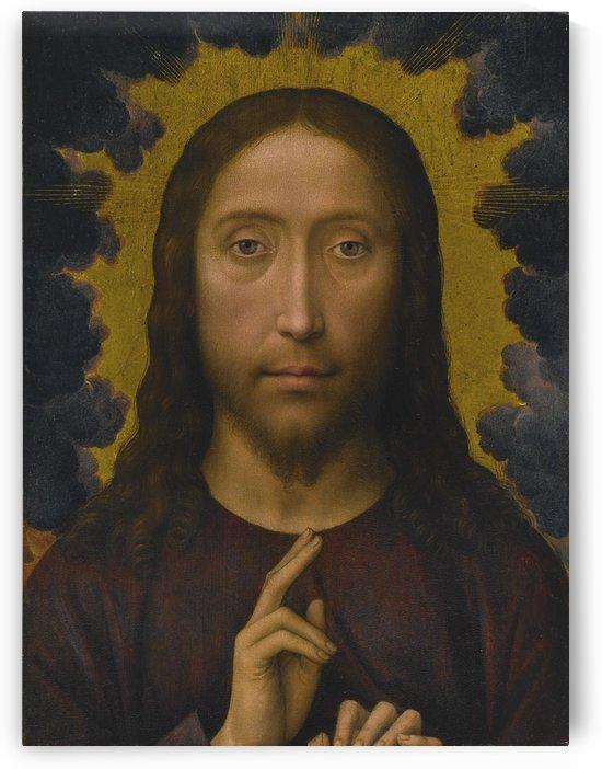 Christ Blessing by Hans Memling