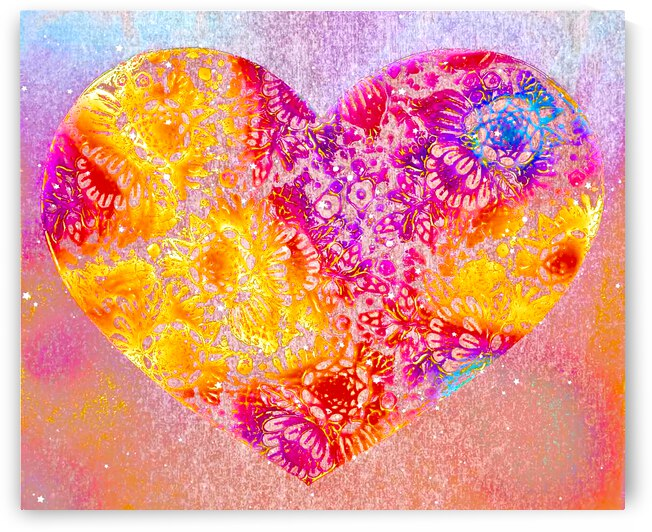 Summer of Love Heart by Hearts Imagined