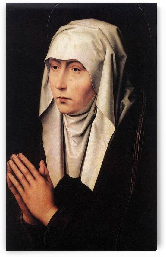 Mater Dolorosa by Hans Memling