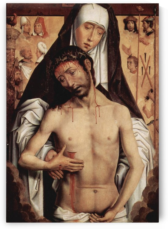 Mater Dolorosa, 1475 by Hans Memling