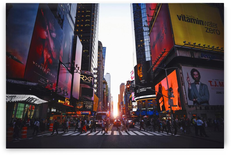 Times Square  New York by Helm