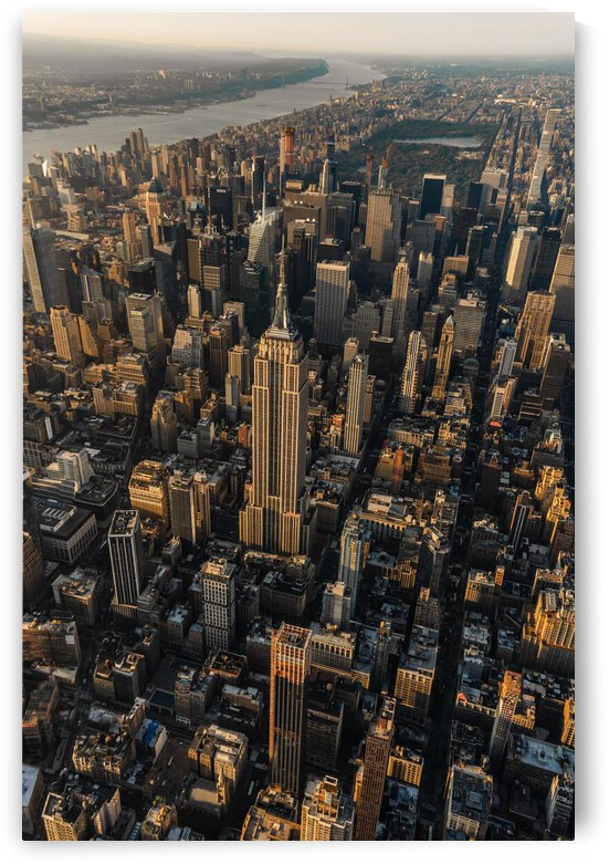 Empire State Building New York by Helm