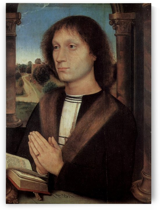 Portrait of Benedetto Portinari, 1487 by Hans Memling