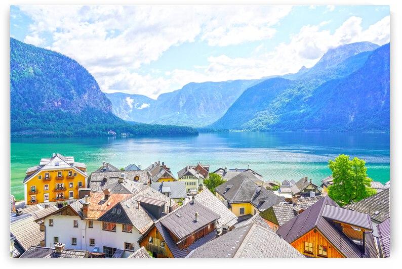 Picturesque Hallstatt in the Upper Austria Alps 3 of 4 by 360 Studios