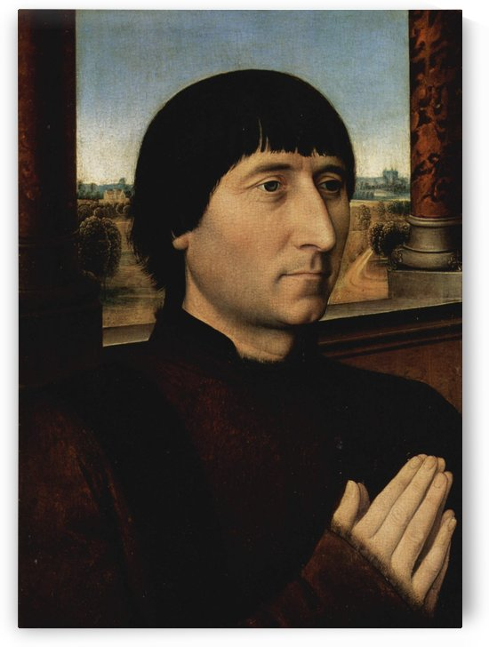 Portrait of Willem Moreel by Hans Memling