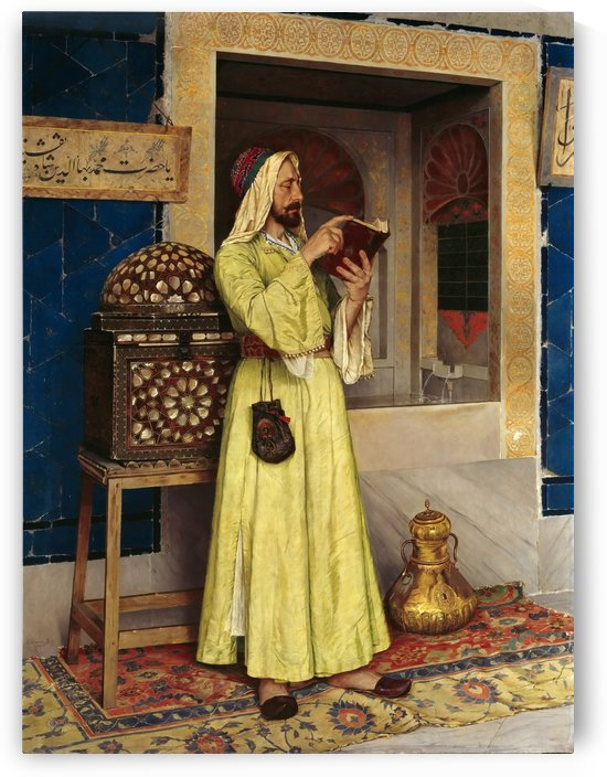 An Arab Reading by Osman Hamdi Bey
