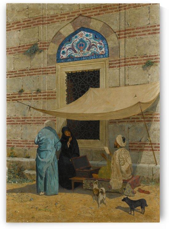 Arzuhalci Public Scribe by Osman Hamdi Bey