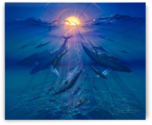 Pacific Sunrise by John Pitre