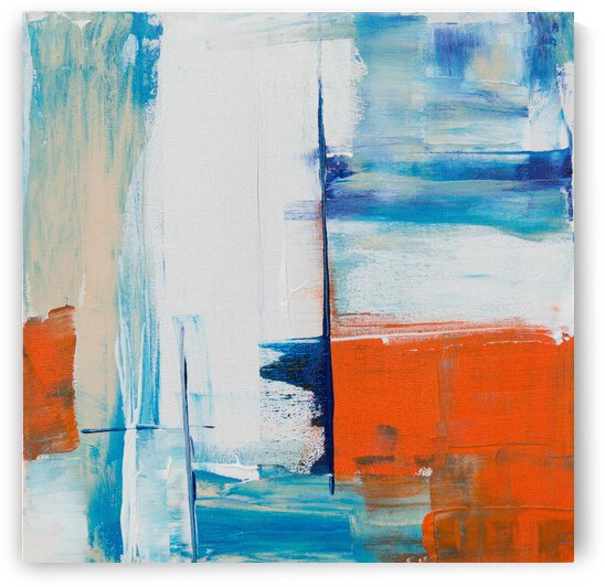Abstract Painting by Helm