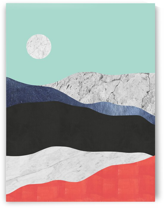Landscape Collage 03 by Vitor Costa