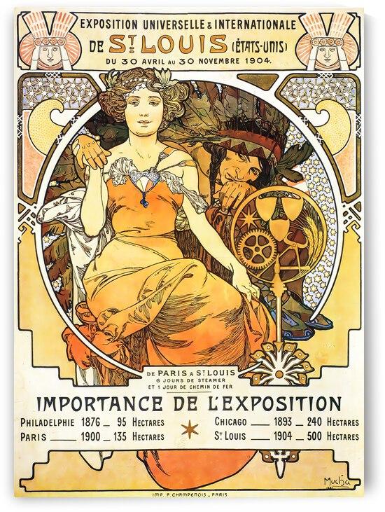 Alphonse Mucha Exposition Universelle   Internationale De St Louis   1903 by TOPARTGALLERY