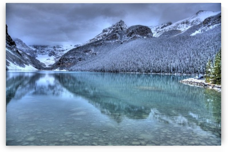 Lake Louise Winter by Fabien Dormoy