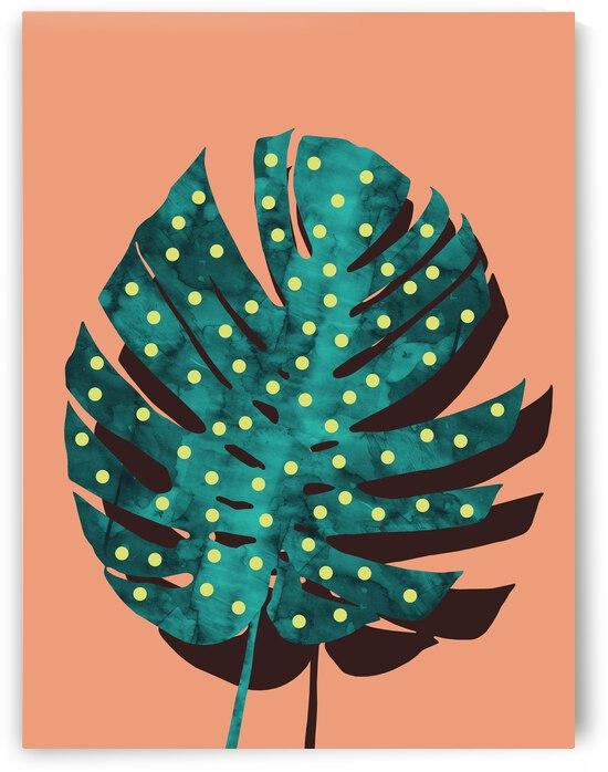 Tropical Leaf 3 by Vitor Costa