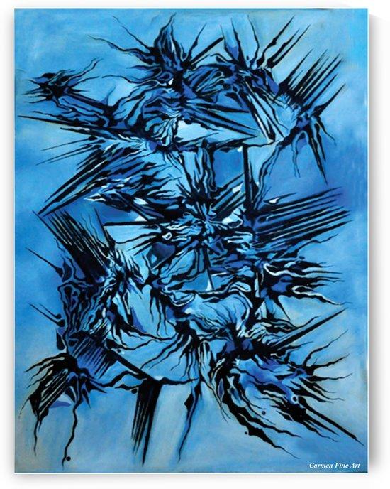 Sky vs Philosophy by Carmen Fine Art