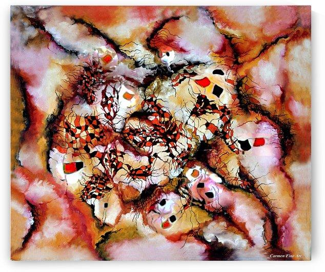 Theme from Aesthetic Fire by Carmen Fine Art