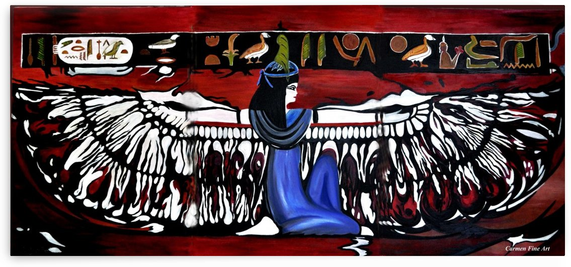 Goddess by Carmen Fine Art