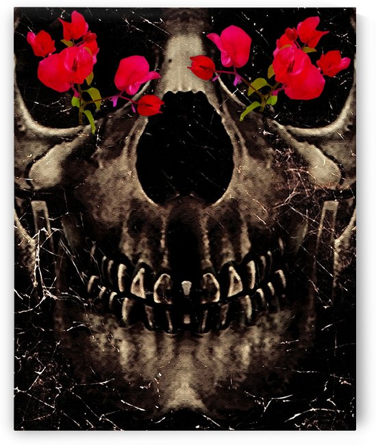 Death and Flowers by Daniel Ferreia Leites Ciccarino