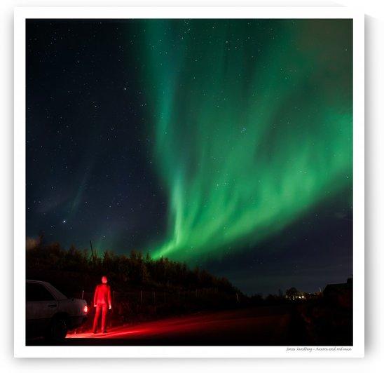 Red mans aurora by Jonas Sundberg
