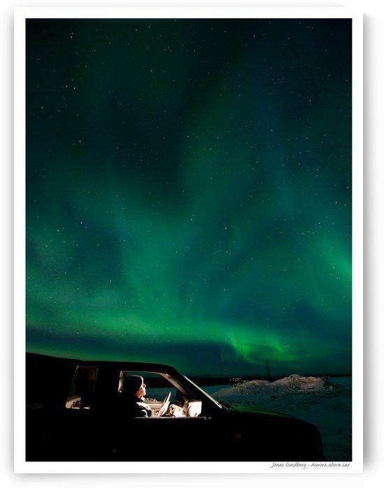 Aurora spectator by Jonas Sundberg