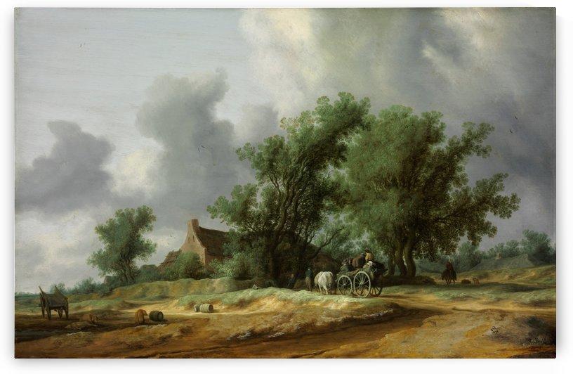 Road in the Dunes by Salomon van Ruysdael