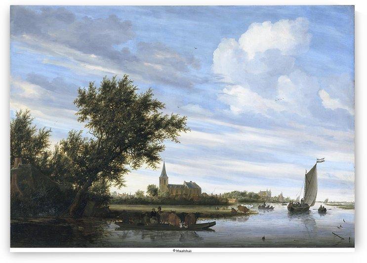 Mauritshuis 738 by Salomon van Ruysdael