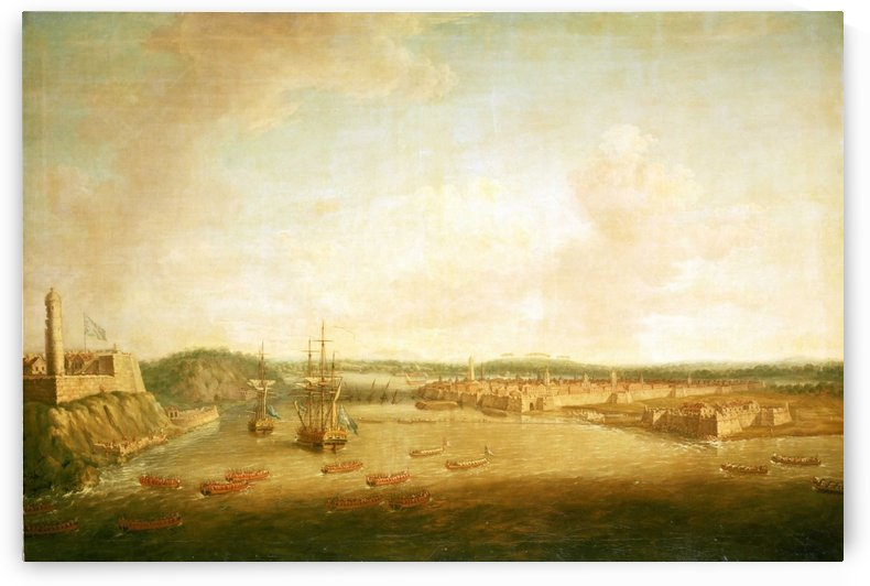 The Capture of Havana, 1762 by Dominic Serres