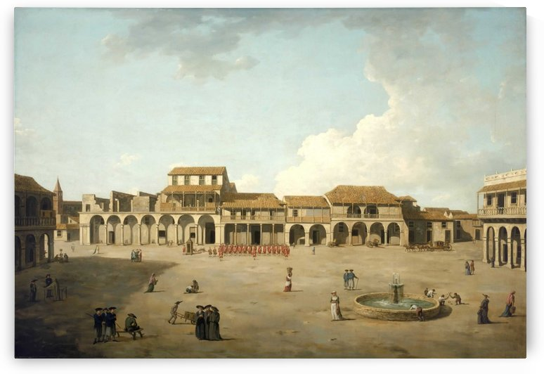 The Piazza at Havana by Dominic Serres