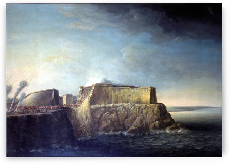 Storming of Morro Castle by Dominic Serres