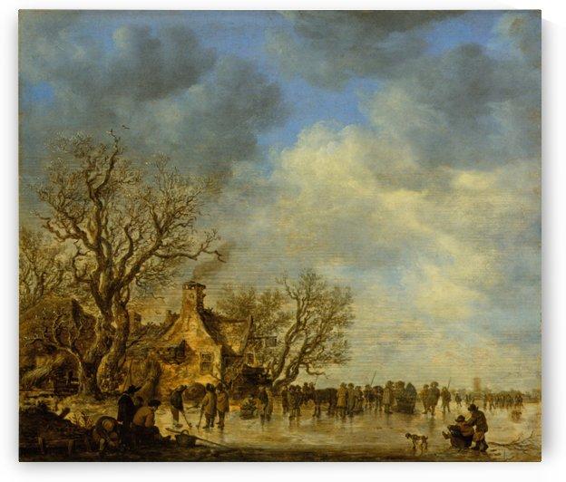 Wirtshaus by Jan van Goyen