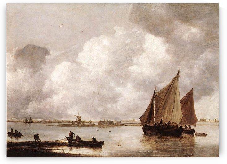 Haarlemmer Meer by Jan van Goyen