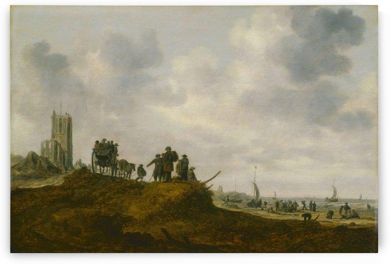 The Old Church by Jan van Goyen