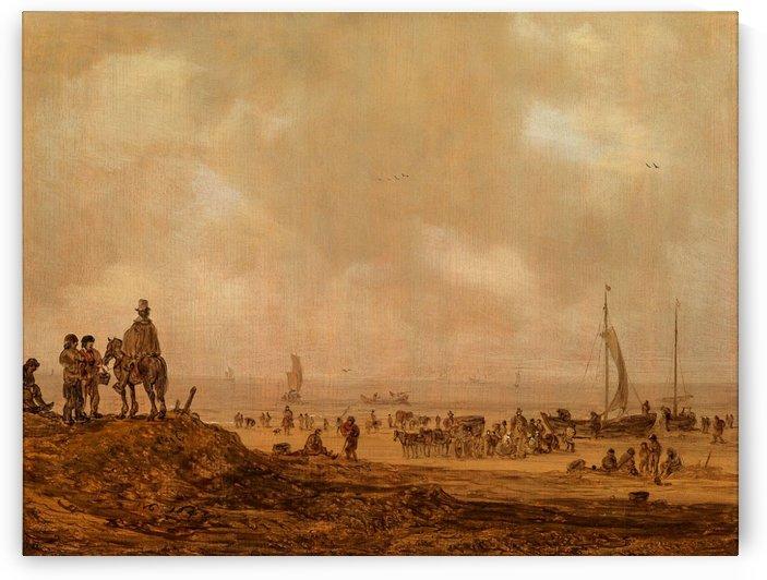Leiden 1596 by Jan van Goyen