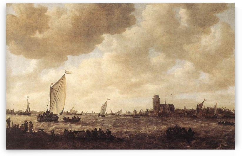 View of Dordrecht by Jan van Goyen