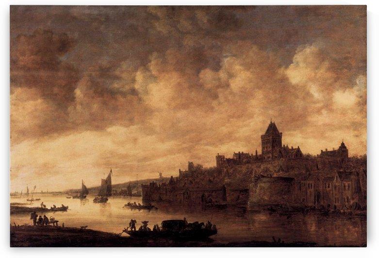 View of Nijmegen by Jan van Goyen