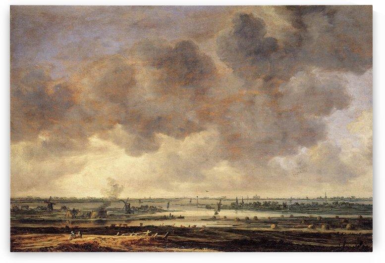 View of the Haarlemmermeer by Jan van Goyen